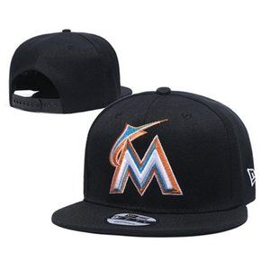 Miami Marlins Snapback Hat Baseball Cap